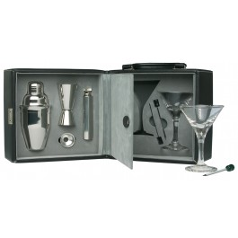 Martini Bar Set with Case
